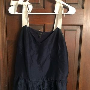 Jcrew silk top